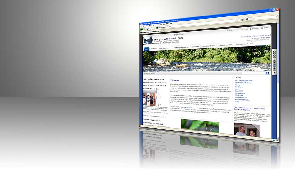 Farmington River Coordinating Committee Website